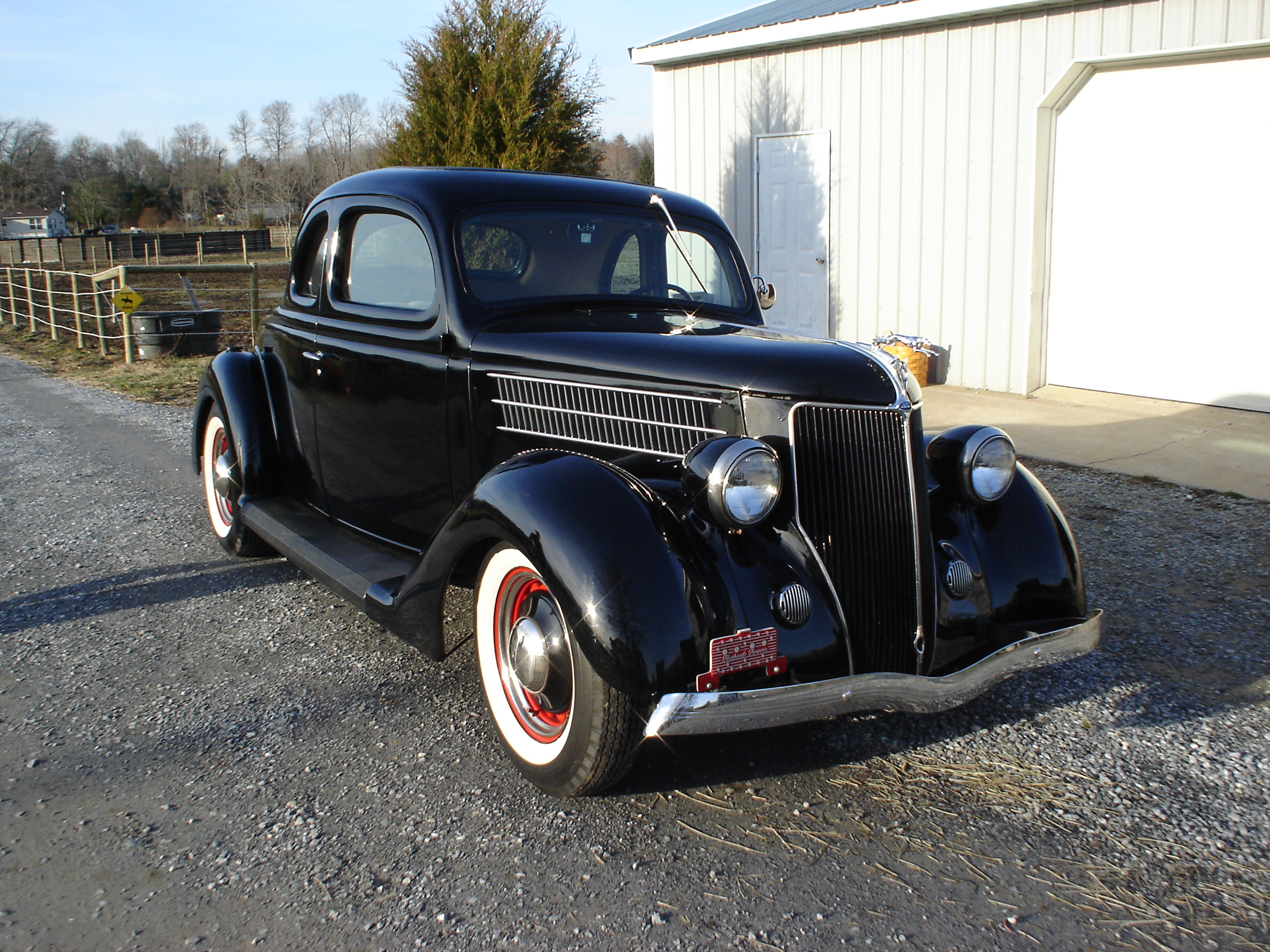 36 Ford Coupe Jjv Customs